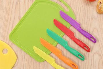 безопасный нож с досточкой