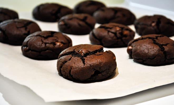 домашнее печенье шоколадное